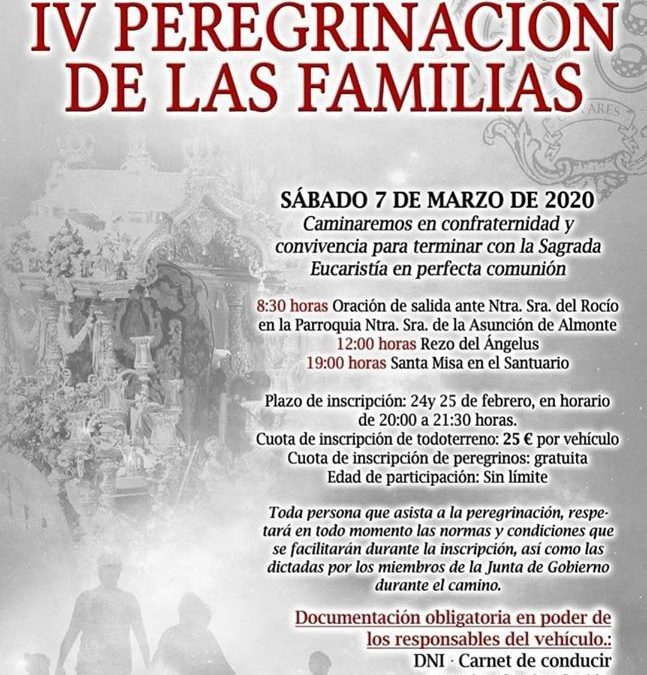 IV Peregrinación de las Familias