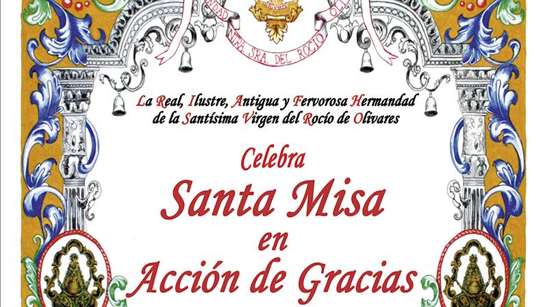 Santa Misa de Acción de Gracias 2020
