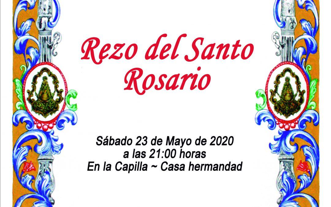 Santo Rosario 23 Mayo 2020